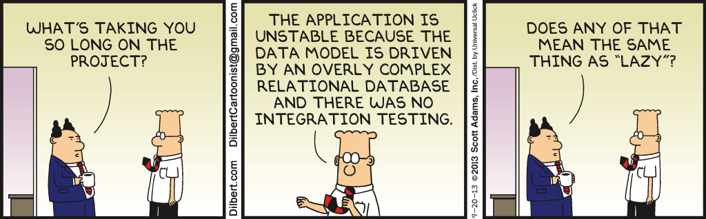 tests and comic strips  how dilbert explains a philosophy
